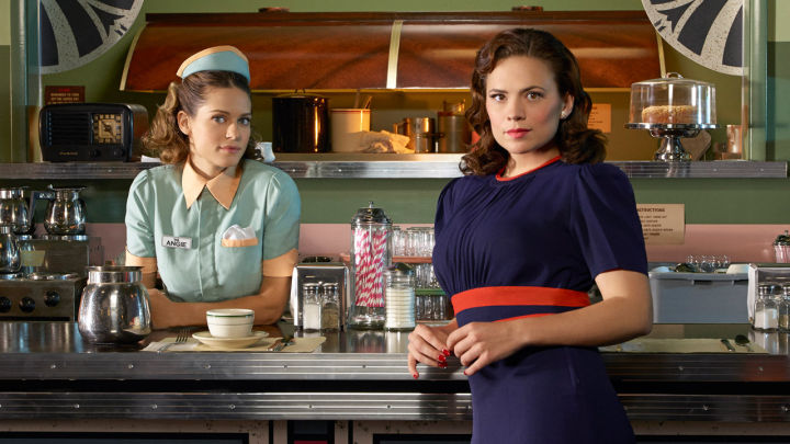 Peggy and Angie