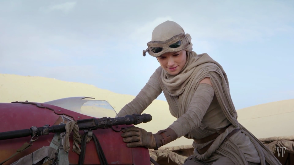 Rey Star Wars Force Awakens
