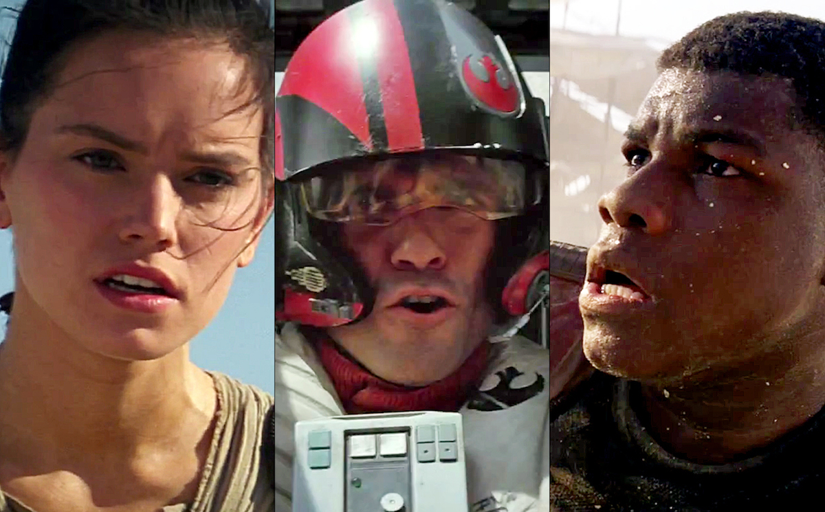 Force Awakens New Cast