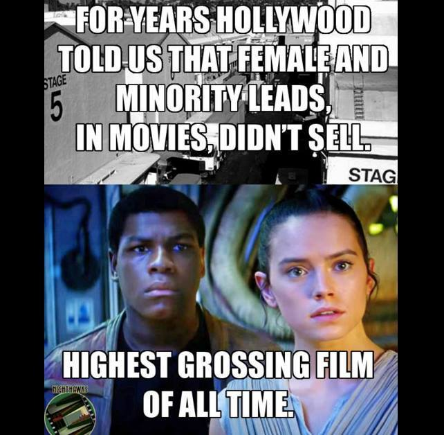 Star Wars Female and Minority Box Office