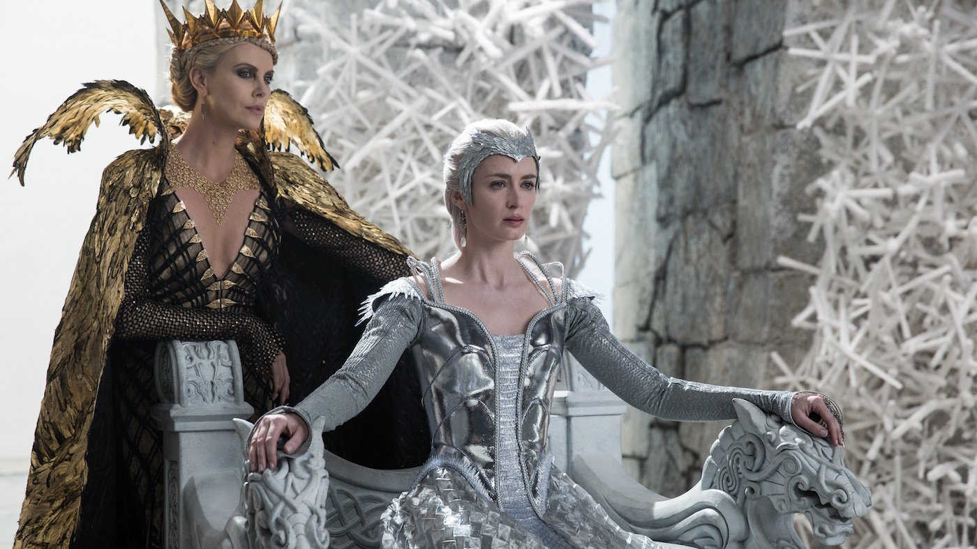 Freya and Ravenna in Winter's War