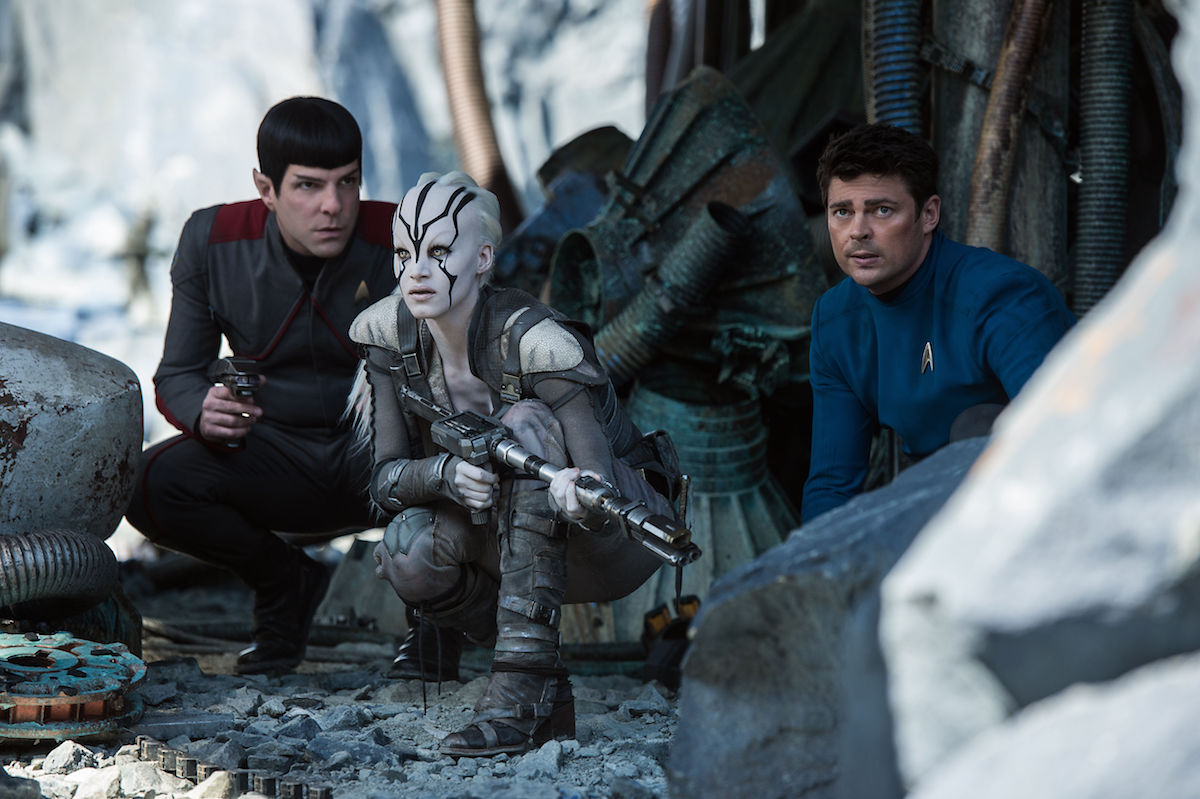 Spock, McCoy and Jaylah