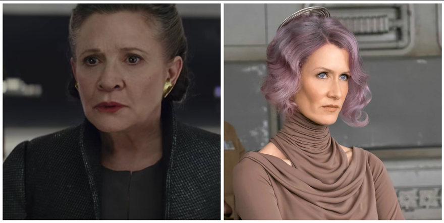 Leia and Holdo